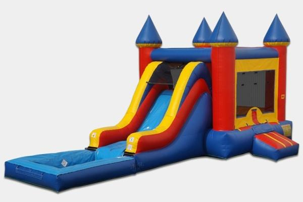 Birthday Cake Combo Bounce House