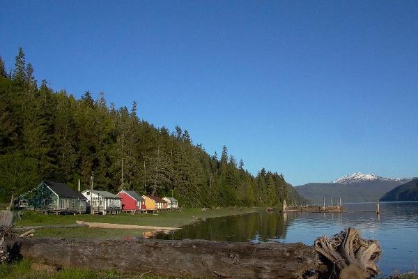 Cassiar Cannery - Skeena River view