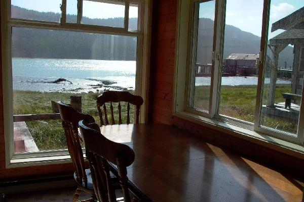 Cassiar Cannery - Sockeye House - Eating Nook