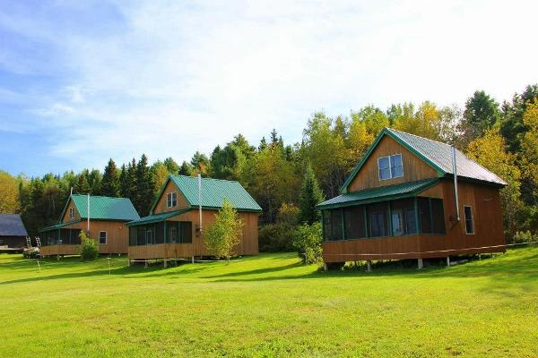 We offer three private cabins at the Chesuncook Lake House