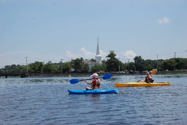 Adult and youth (up to 130 pounds) kayaks available.