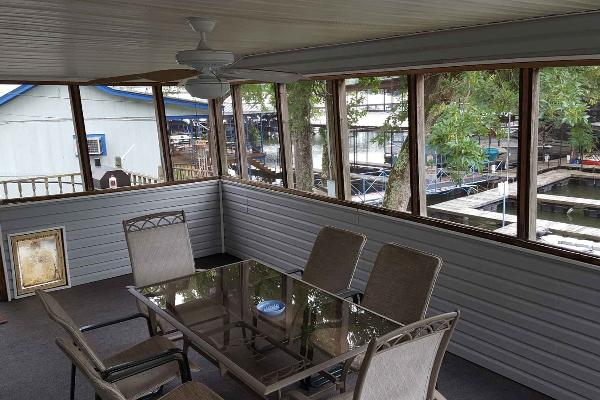3 bed outside - from back screened deck