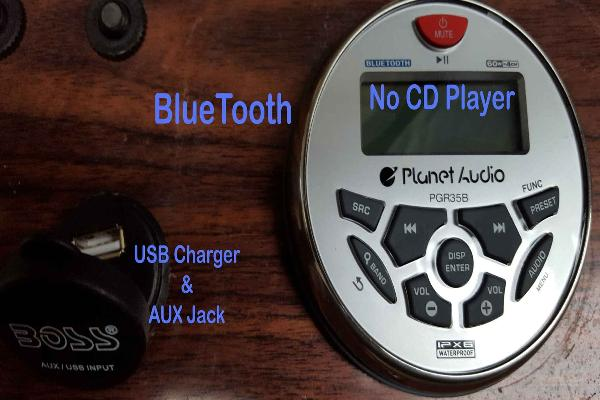 BlueTooth Radio and USB Charger