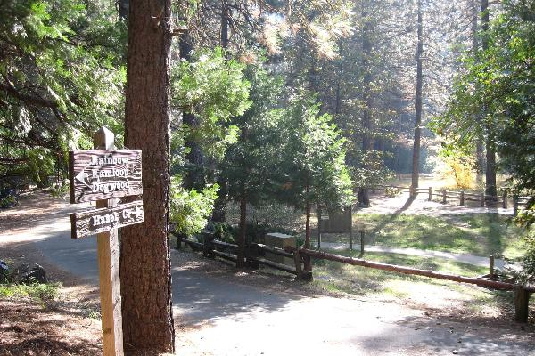 Enterance to Hazel Meadow Campground and Day Use Area