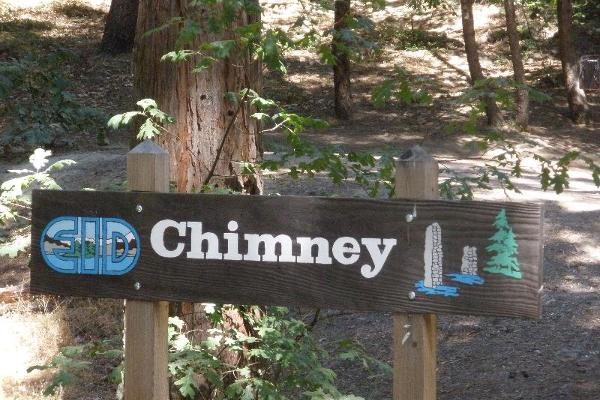 Chimney Campground Enterance