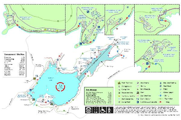 Sly Park Recreation Area Map