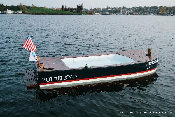 Pictures. Hot Tub Boats