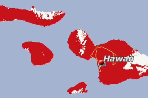 Verizon's Superior 4G Coverage on the islands of Maui, Lanai & Molokai
