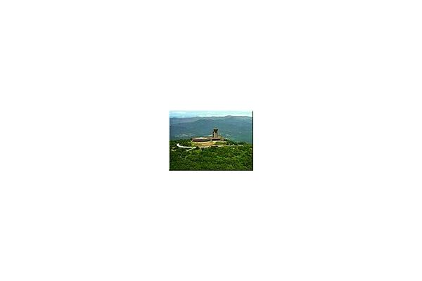 Highest Point in GA, Brasstown Bald - only 16 miles away
