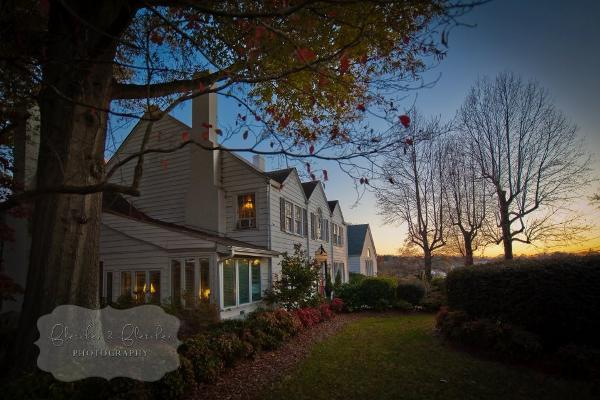 Sunset at The Peacock Inn at Catawba Farms