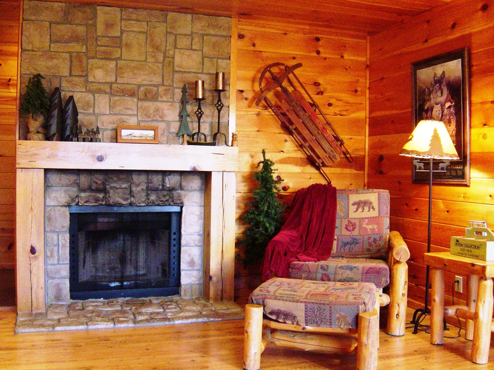 cabin living room | house beautifull living rooms ideas