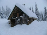 Penny Red Mountain Cabin winter (room for 8)
