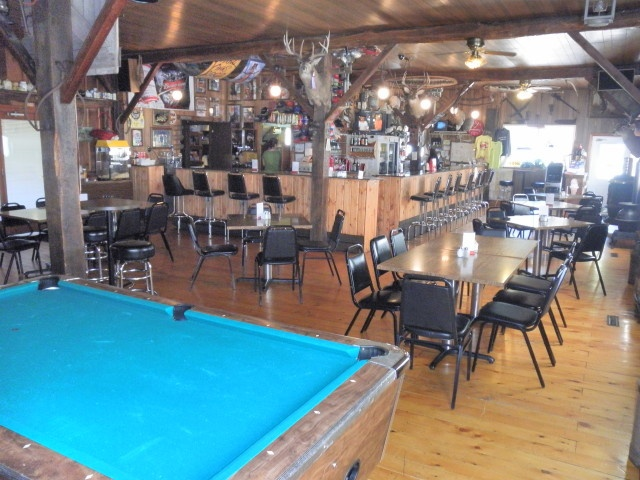 Red Barn Grill Interior Covered Deck