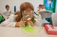 Blowing Slime Bubbles....Cool!