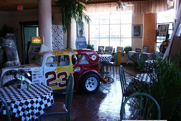Daytona Beach Florida Streamline Hotel Lobby