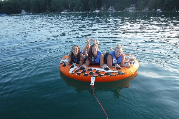 Take friends and family out tubing!