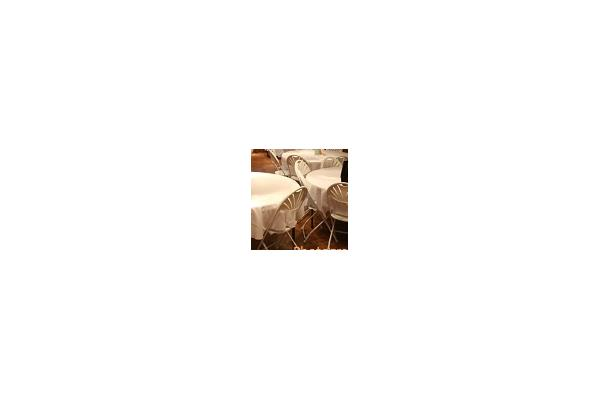 Folding Chair, Tables are rented separately
