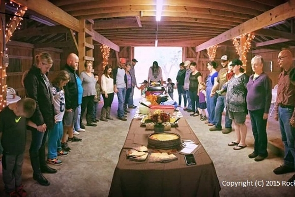 Thanksgiving Dinner in the Barn 2015